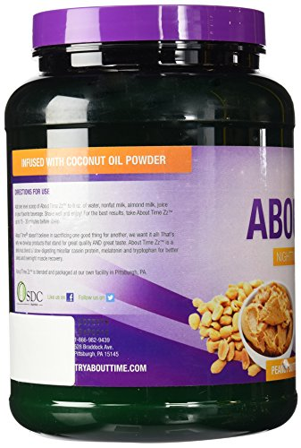 About Time Night Time Recovery Peanut Butter, 2 Pound