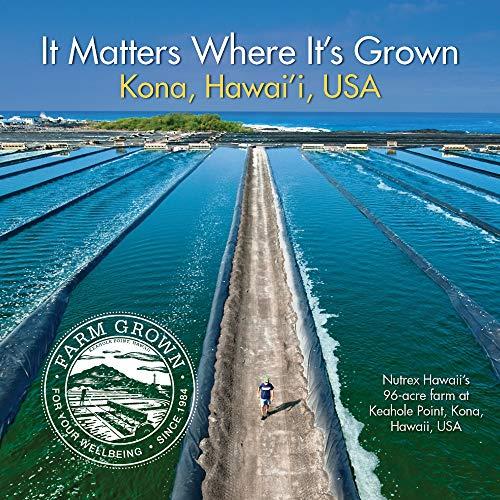 Pure Hawaiian Spirulina-1000 mg Tablets 180 Count - Natural Premium Spirulina from Hawaii - Vegan, Non-GMO, Non-Irradiated - Superfood Supplement & Natural Multivitamin ,Green,1000mg Tablets,180 Count
