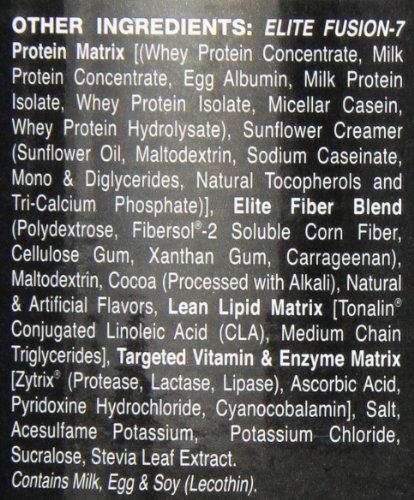 Dymatize Nutrition Elite Fusion-7 Drink, Choc Pb, 2 Pound