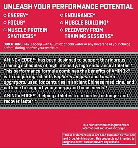 BSN Amino X Edge Amino Acid Powder, Strawberry Orange, 28 Servings