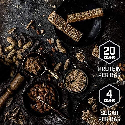 BSN Syntha-6 Protein Crisp Bar, Vanilla Marshmallow, 12 Count