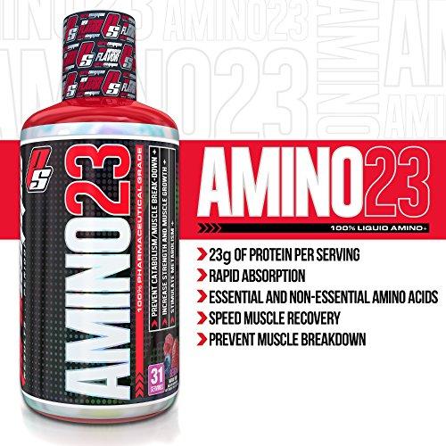 Pro Supps XXIII Liquid Amino Diet Supplement, Vanilla, 32 Fluid Ounce