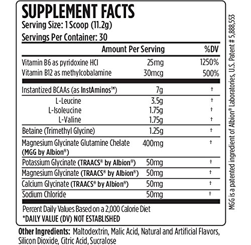 VMI Sports, Aminogex Ultra BCAA Powder, Sweet Iced Tea, 30 Servings, Branched Chain Amino Acids Powder for Endurance & Muscle Recovery, Pre- or Post-Workout Supplement for Muscle Building