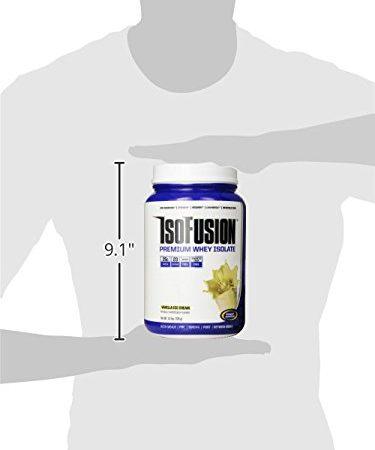 Gaspari Nutrition Isofusion Diet Supplement, Vanilla, 1.6 Pound (Pack of 6)