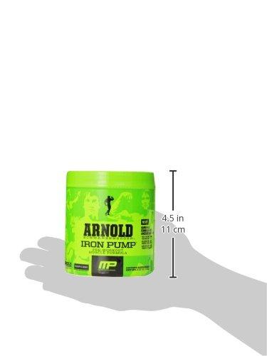 Arnold Schwarzenegger Series Arnold Iron Pump Supplement, Pineapple Mango, 6.35oz
