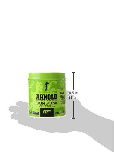 Arnold Schwarzenegger Series Iron Pump Pre-Workout Formula, Fruit Punch, 6.35 Ounce