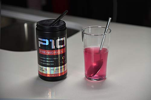 P10 Performance Pre-Workout 20-Serving Jar