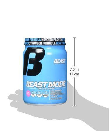 Beast Sports Nutrition, Beast Mode Pre-Workout, Pink Lemonade, 22.93 Ounce