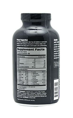 ADEPT NUTRITION Amino Complex Tablets, 326 Count