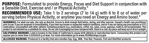 ALLMAX Nutrition ACUTS, Amino-Charged Energy Drink, Pink Lemonade, 7.4 oz (210 g)