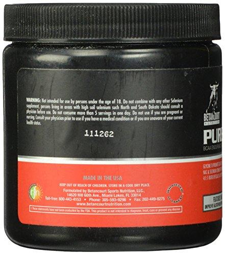 Betancourt Nutrition Pure-Amino Diet Supplement, Fruit Punch, 5 Count