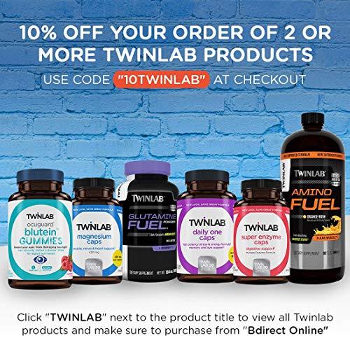 TwinLab 1156 Amino Fuel Liquid, Orange Rush, 32 fl oz