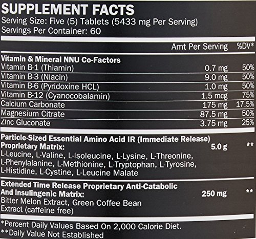 ALR Industries Humapro Tabs, Protein Matrix Formulated for Humans, Waste Less. Gain Lean Muscle, 300 Tabs
