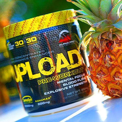 Alpha Pro Nutrition, Upload, Watermelon Splash, 204 g